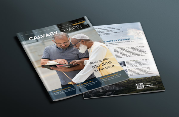Cover for Issue 71 of Calvary Chapel Magazine