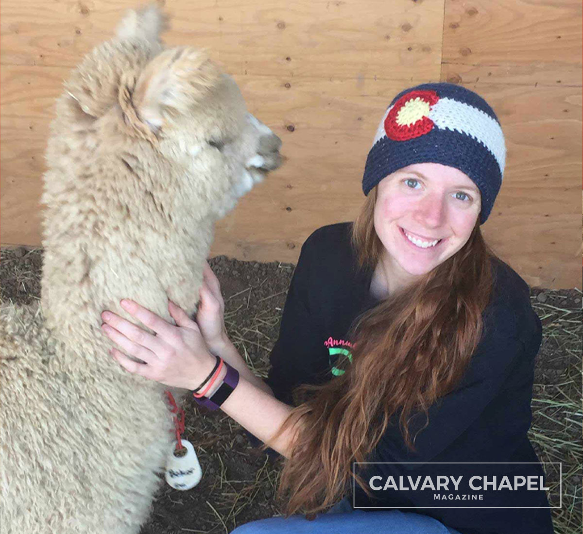 Lady with alpaca