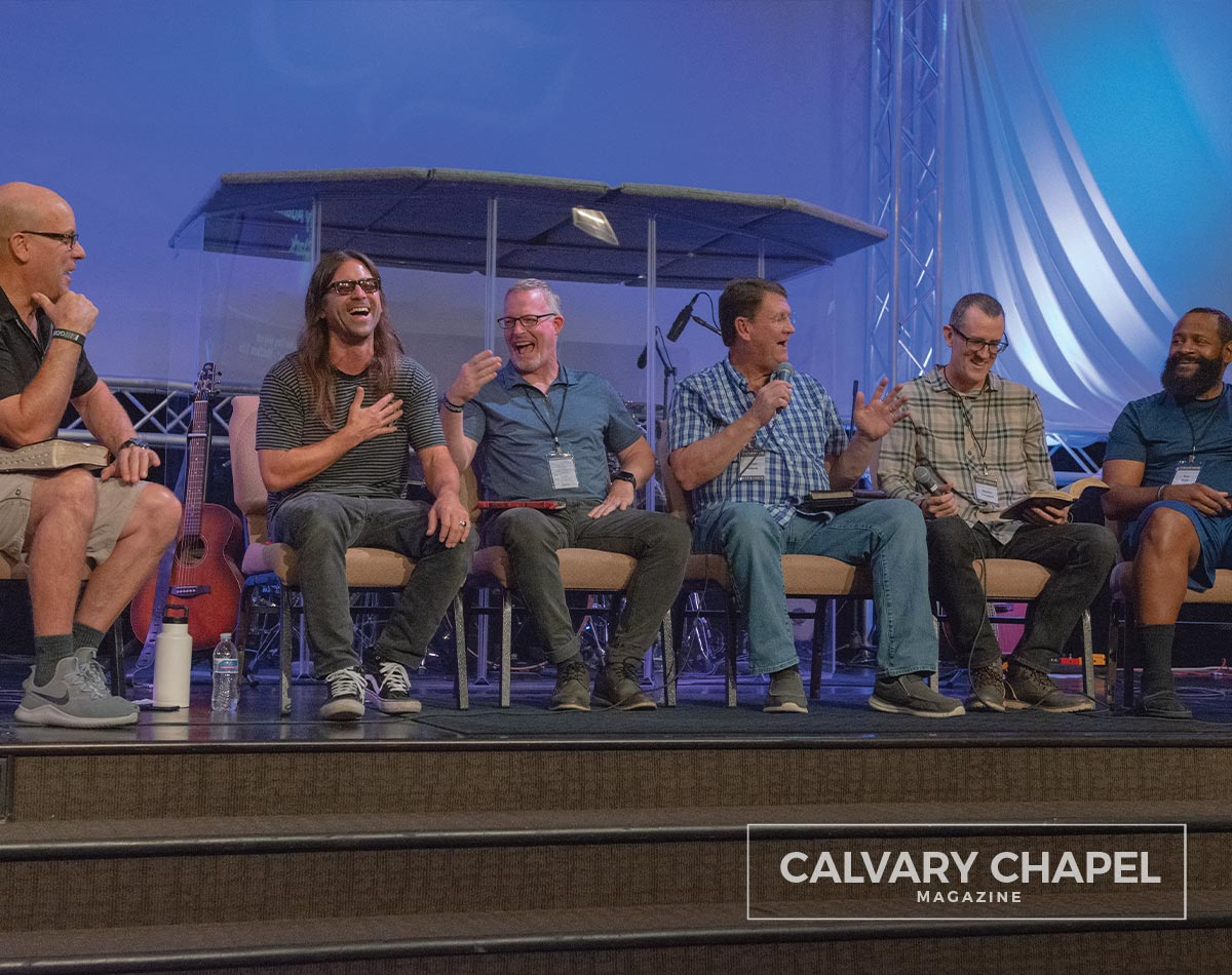 pastors in panel discussion