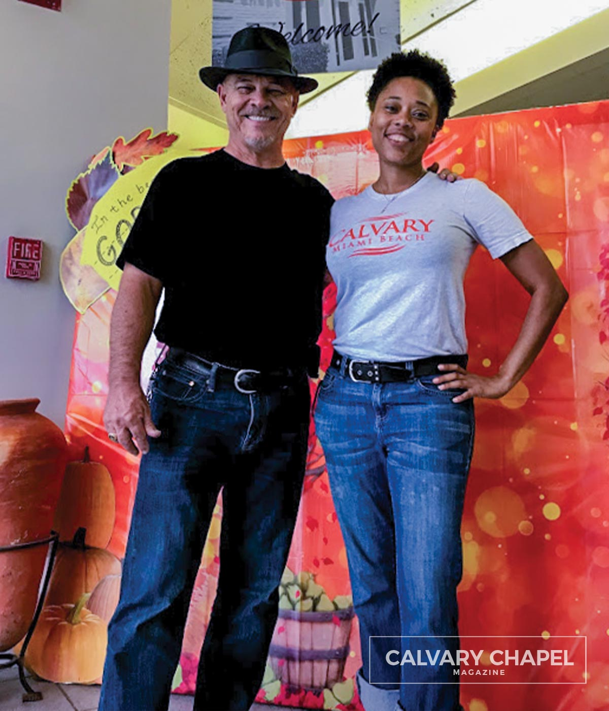 Fall fiesta with Pastor Robert and Erica