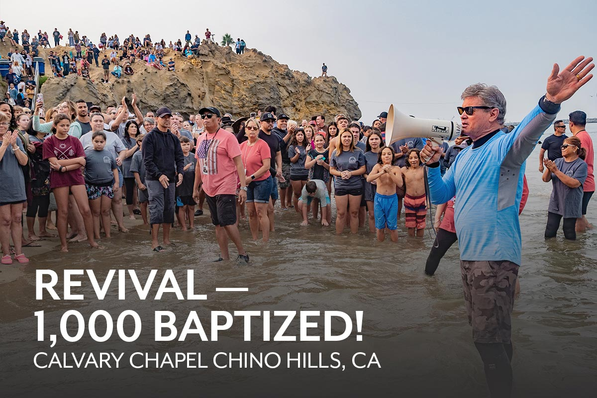 Calvary Chapel Chino Hills Baptizes 1,000 Believers
