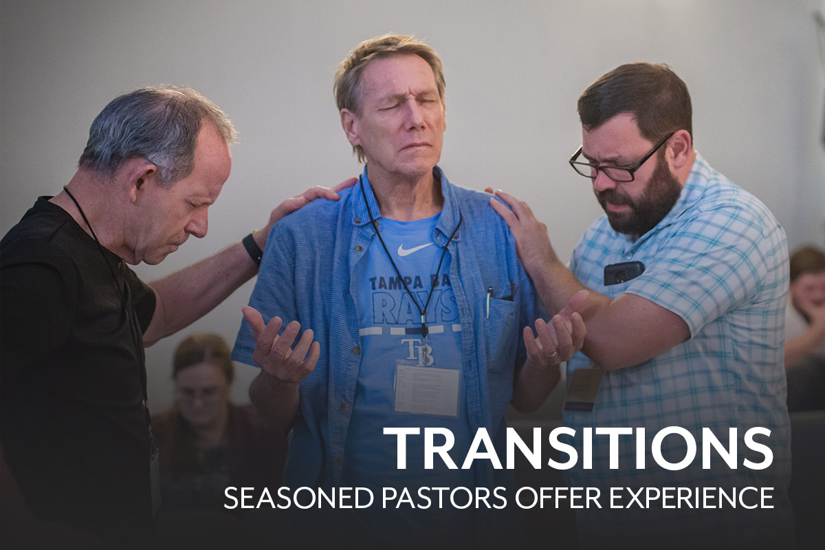 Transitions: Seasoned Pastors Offer Experience