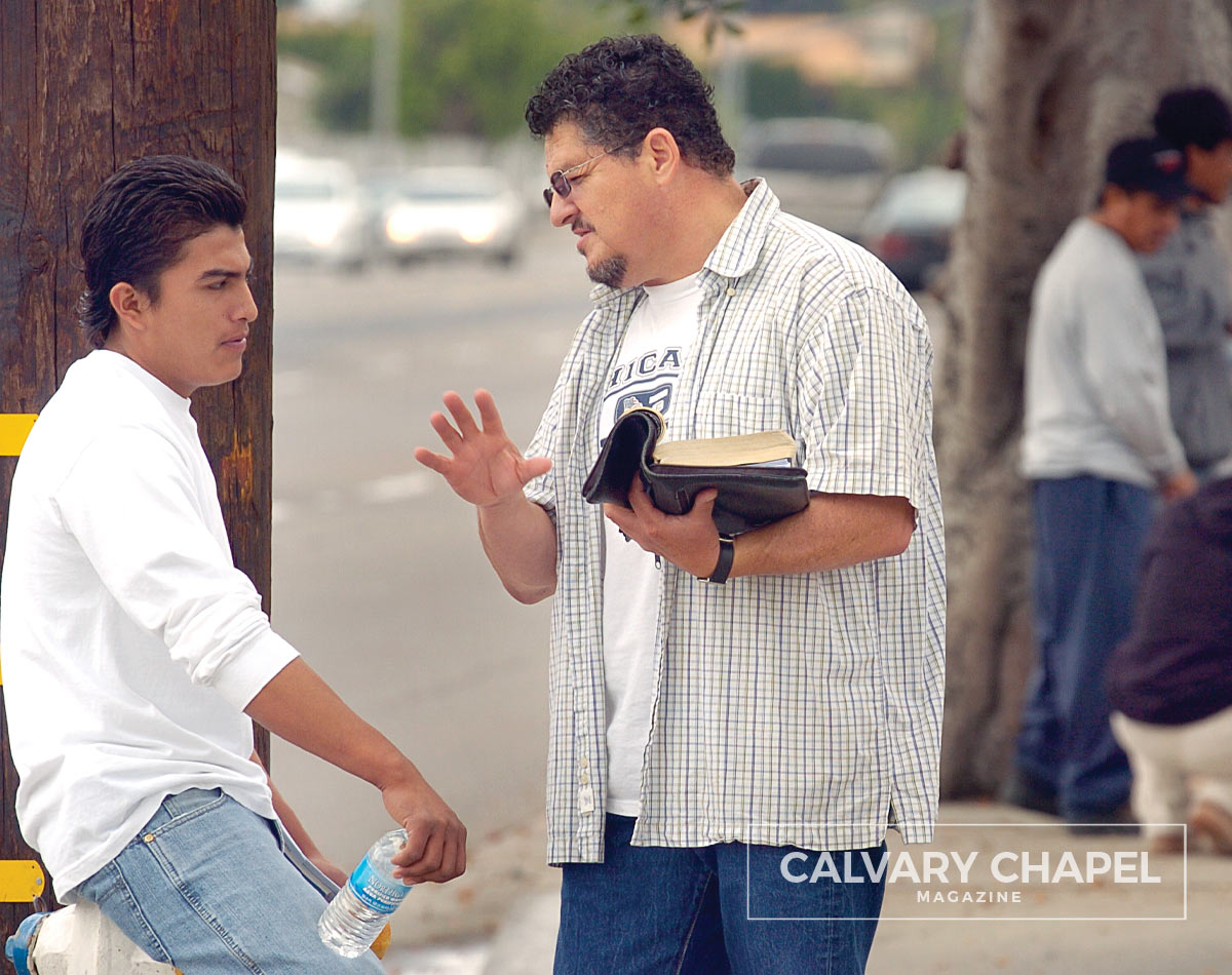 Sharing the Gospel with a man in the United States