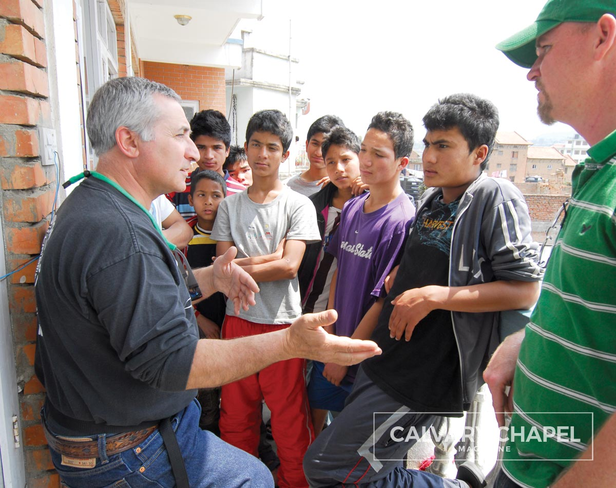 Sharing the Gospel with youth in Nepal