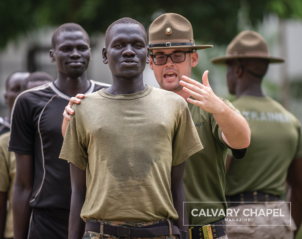 Drill Instructor Chris